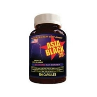 ASIA BLACK 100 CAPS - 25 MG -
