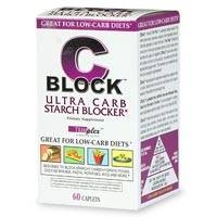 CBlock Ultra Carb Starch Blocker, Caplets 60