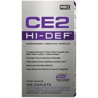 CE2 HI DEFINITION 180 CAPS  CREATINE