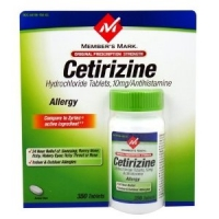 CETIRIZINE ALLERGIES  -350 caps