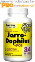 Jarro-Dophilus ® + FOS 100 caps