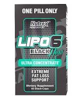 LIPO 6 BLACK POUR ELLE NEW 60 CAPS CONCENTRE