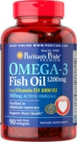 OMEGA 3 FISH OIL 1200 MG  90 Caps - 3 BOITES