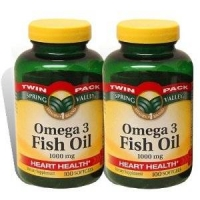 Omega 3 Fish Oil By Spring Valley Vitamin 2 boites