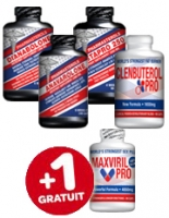 PACK MUSCLE BOOSTER PREMIUM 5 PRODUITS
