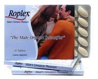 Pilules Roplex pour l'orgasme masculin 30 caps