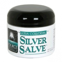 Silver Salve - Argent colloïdal (2 oz, 60 ml)