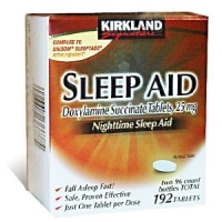 SLEEP AID  25 MG, 192-Count -AIDE A DORMIR