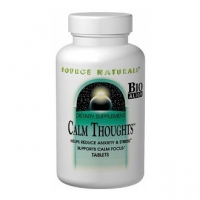 Source Naturals Calm Thoughts (90 comprimés) - Traitement nature