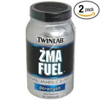 TwinLab ZMA Fuel, Strength, 90 Capsules (Pack ode 2)