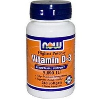 Vitamin D-3 (5000IU) 240 gelules