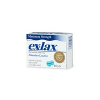 exlax , laxatif  48 caps