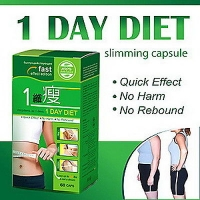 1 DAY DIET SLIMMING 60 CAPS CHINOIS