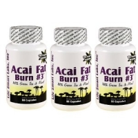 ACAI FAT BURN ( 3 boites=180 caps )