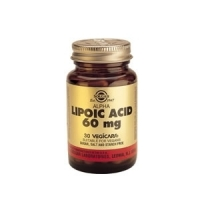 Acide Alpha Lipoique Solgar  30 caps
