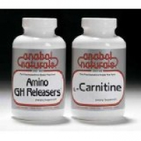 Amino GH Releasers - 775 mg - 120 Capsules / Carnitine 30 caps