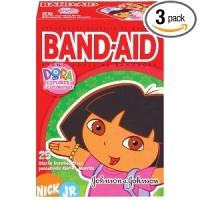 Band-Aid Brand Adhesive - Pansemeents Dora -75 pansements