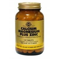 CALCIUM MAGNESIUM PLUS ZINC 100 COMPRIMES
