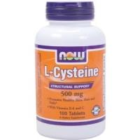 Cystéine 500 mg , 100 caps,Peau-Cheveux-Ongles