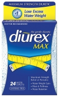 DIUREX MAX DIURETC 24 CAPS
