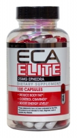 ECA ELITE  25 MG  EPHEDRA 90 CAPS