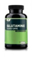 Glutamine 1000 mg, 60 caps ( 2 boites )