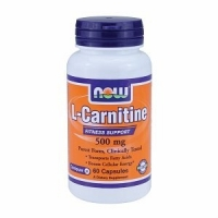 L-Carnitine 500 mg by Now Foods  60 caps