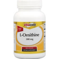 L-ORNITHINE 500 MG VITACOST 100 CAPS