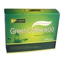 LEPTIN GREEN COFFEE 800  - 18 sachets