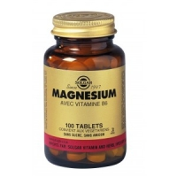 MAGNESIUM + B6 100 TABLETS , SOLGAR