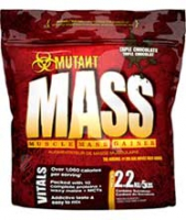 MASS MUTANT NUTRITION 2.2 KG GAINER 50 %