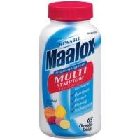 MAALOX A CROQUER  65 CAPS