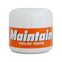 Maintain Delay Pads - Premature Ejaculation, 35 pads