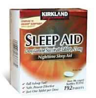 Nightime Sleep (2 Boites), Somnifere naturel  96 X2  caps