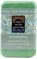 One With Nature Dead Sea Minerals Soap Eucalyptus 7 oz