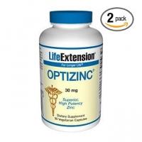 OptiZinc 2 Boites - 30 mg 90 capsules végétariennes