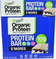 Orgain Organic Protein Bar S'Mores 12 Bars
