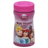 PRINCESS GUMMIES ENFANTS 60 MULTIVITAMINES