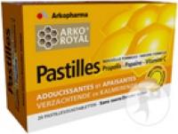 Royal Propolis Papaine Pastilles Tube 2x10