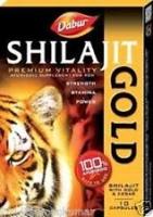 SHILAJIT 10 CAPS GOLD LIBIDO