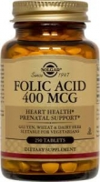 Solgar Folic Acid 400 mcg Tablets