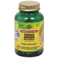 Solgar - Korean Ginseng Root Extract, 60 veggie caps