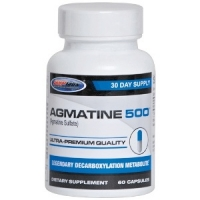 Agmatine 500 Capsules, 60 Counts
