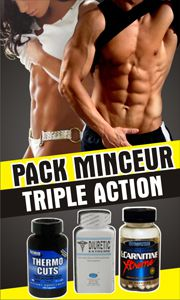 acheter pack minceur thermocuts, diuretic, carnitine