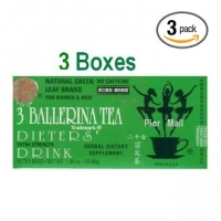 BALLERINA TEA ( THE MINCEUR )3 BOITES  54 SACHETS