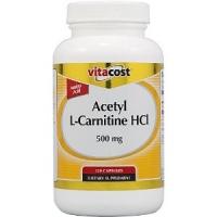 ACETYL CARNITINE HCI 500 MG   120 CAPS