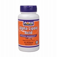 ALPHA LIPOIC ACID NOW FOOD 60 CAPS