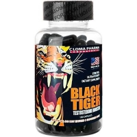 BLACK TIGER  100 CAPS TESTOSTERONE BOOSTER