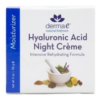 Creme nuit Acide hyaluronique - Derma E  56 gr