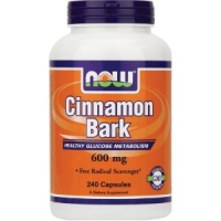 Ecorce de Cannelle 600 mg -120 caps - Now Foods